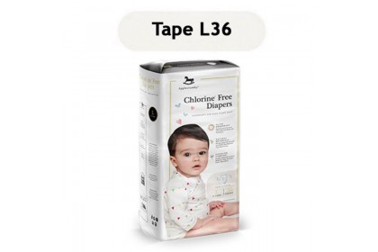 Applecrumby 100% Chlorine Free Diapers Tape